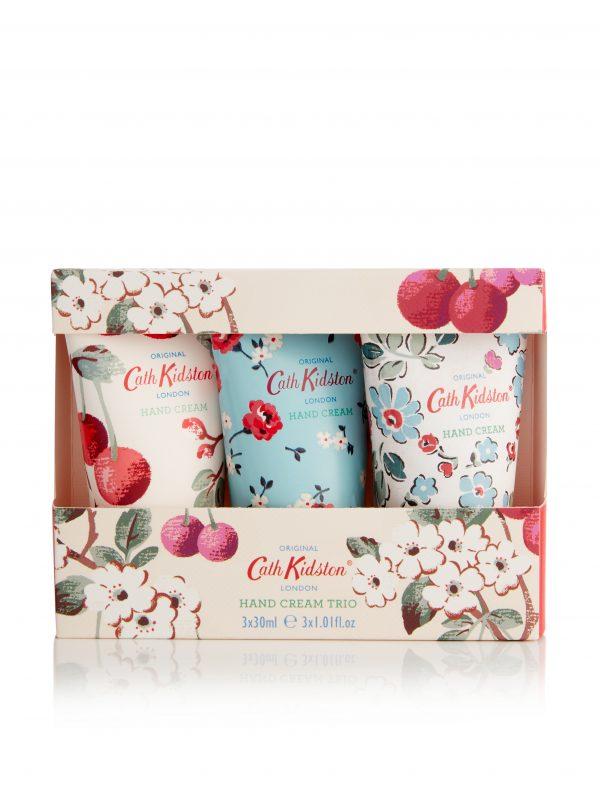 Cath Kidston Cherry Blossom Handcream Trio -0