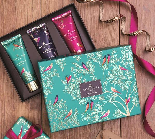 sara miller gift boxed hand creams
