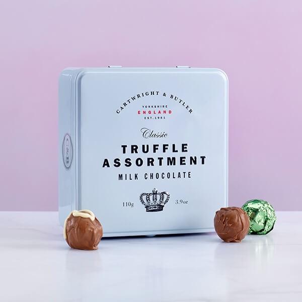 Cartwright & Butler Milk Chocolate Truffle Assortment -0