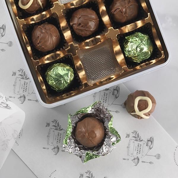 Cartwright & Butler Milk Chocolate Truffle Assortment -3342