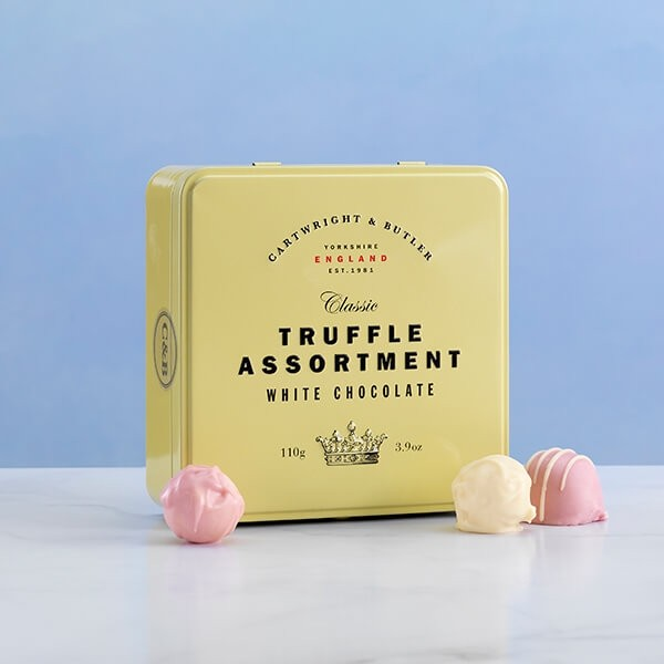 Cartwright & Butler White Chocolate Truffle Assortment -0
