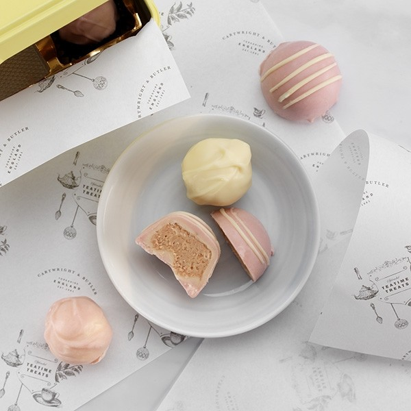 Cartwright & Butler White Chocolate Truffle Assortment -3340