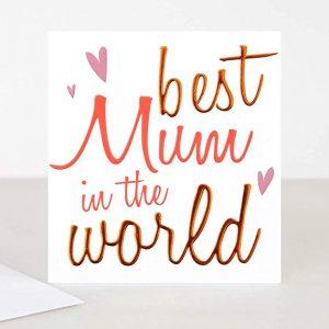 Caroline Gardner Best Mum in The World Card-0