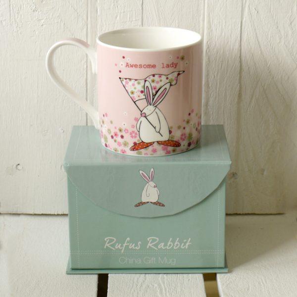 Rufus Rabbit Super Duper Sister Mug Gift Boxed-3368