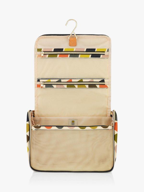 Orla Kiely Multi Stem Large Hanging Wash Bag-3355