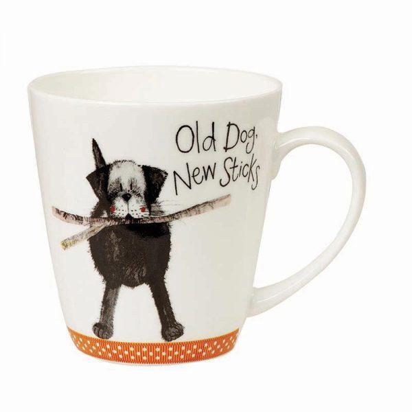 Alex Clark Old Dog New Sticks Mug-0