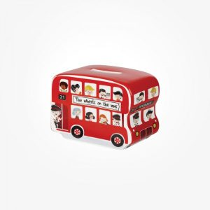 Little Rhymes Wheels On The Bus Money Box-0