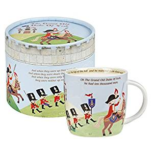 Little Rhymes Grand Old Duke Of York Mug, Gift Boxed-0