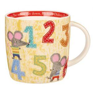 Little Rhymes Hickory Dickory Dock Mug -0