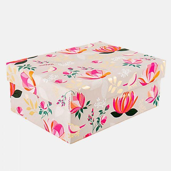 Sara Miller Peony Medium Gift Box-0