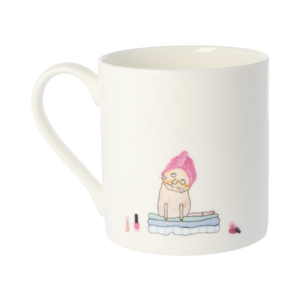 Rosie Made A Thing Crazy Cat Lady Quite Big Mug-3425