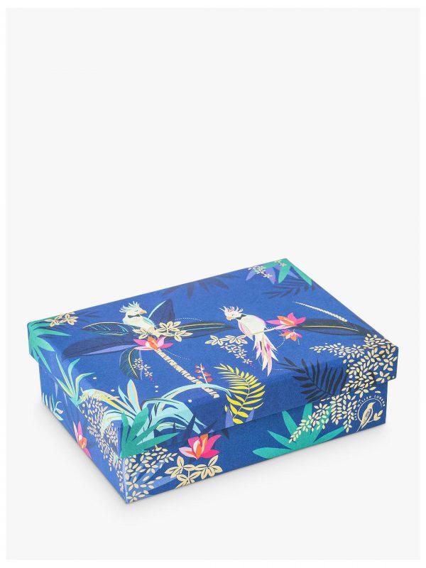 Sara Miller Tropical Cockatoo Small Gift Box -0