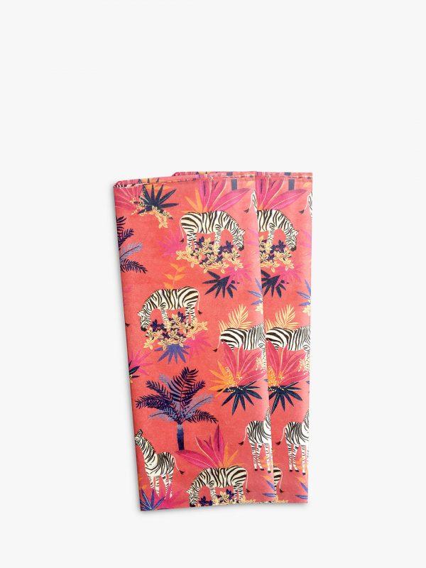 Sara Miller Tropical Zebra Tissue Paper -3437