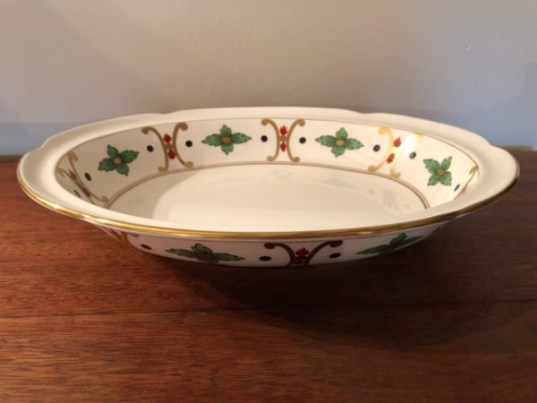 William Yeoward Giralda Open Oval Vegetable Dish - Made By Leeds Pottery-0