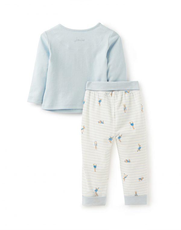 Joules Baby Peter Rabbit Blue Top & Trouser Set-3490