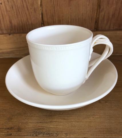 Hartley Greens Leeds Pottery Coffee Cup & Saucer -0