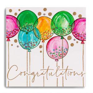Janie Wilson Congratulations Balloon Card-0