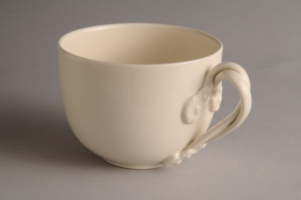 Hartley Greens Leeds Pottery Large Twisted Handle Tea Cup-0