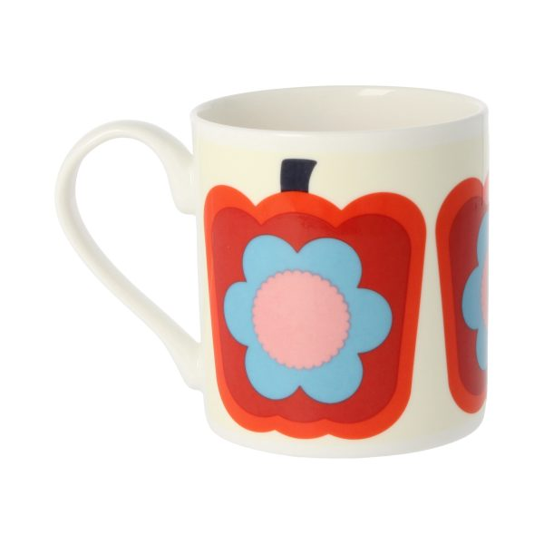 Orla Kiely Red Pepper Mug-3520