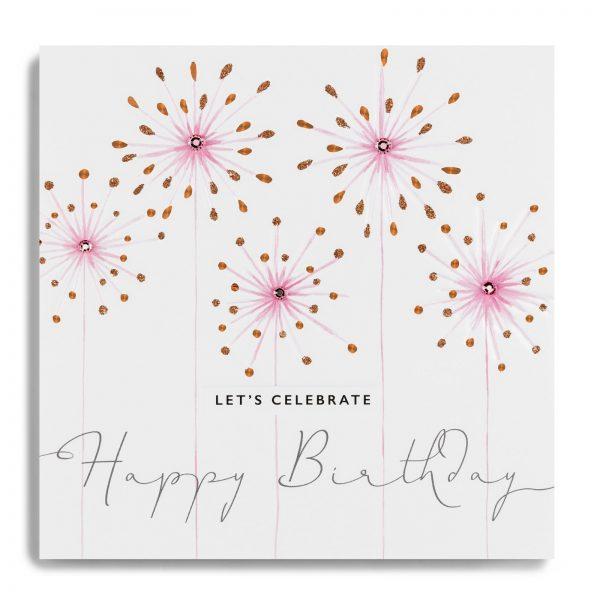 Janie Wilson Happy Birthday Let's Celebrate Card-0
