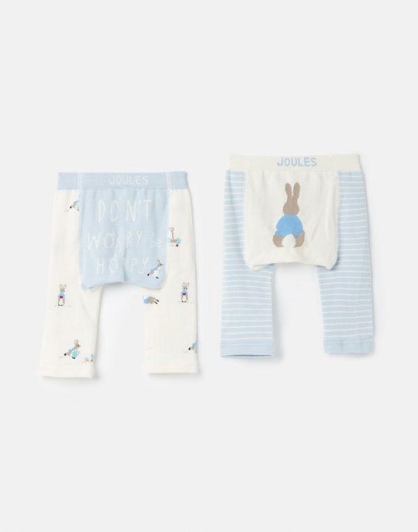Joules Peter Rabbit 2 Pack Intarsia Lively Leggings -0
