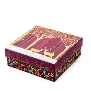 Sara Miller Luxury Deer & Robin Small Gift Box -0