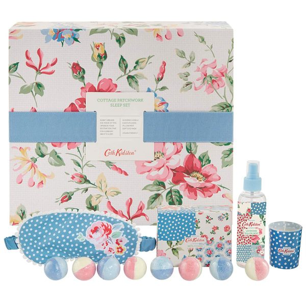 Cath Kidston Cottage Patchwork Sleep Set Gift Set-0