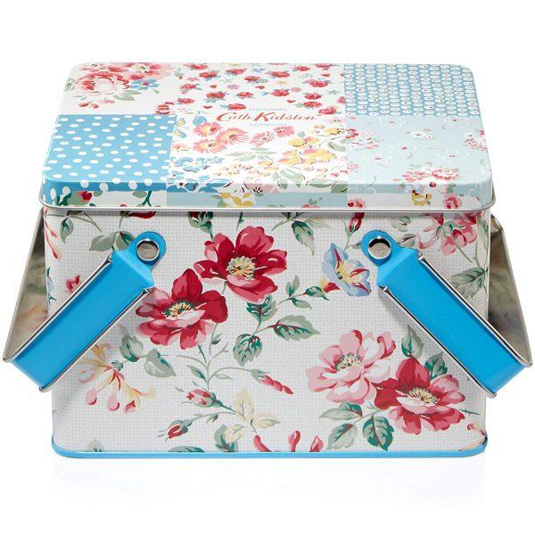 Cath Kidston Cottage Patchwork Pamper Picnic Tin Gift Set -3697