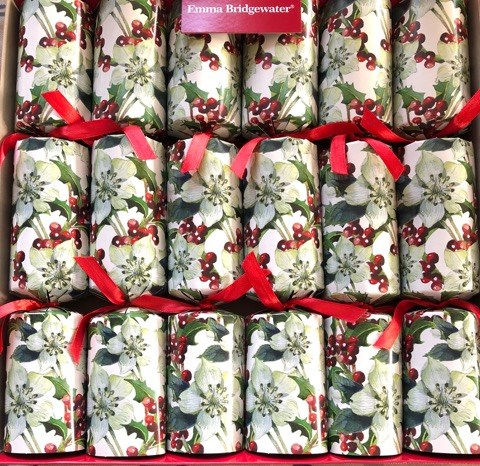 Emma Bridgewater Hellebore Red Berries Luxury Christmas Crackers-0