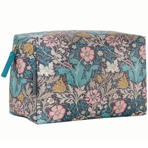 William Morris Pink Clay & Honeysuckle Large Wash Bag-0