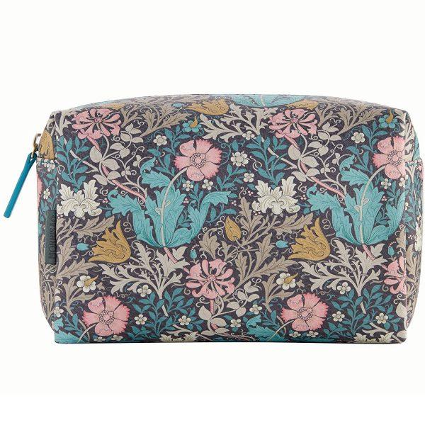 William Morris Pink Clay & Honeysuckle Large Wash Bag-3674