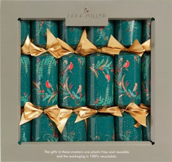 sara miller robin christmas crackers
