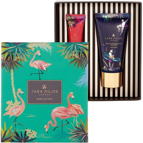 Sara Miller Tropical Hand & Lip Duo Gift Set-0