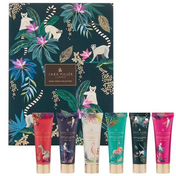 Sara Miller Tropical Hand Cream Collection, 6 Handcreams -0