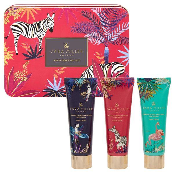 Sara Miller London Tropical Hand Cream Collection In Tin-0