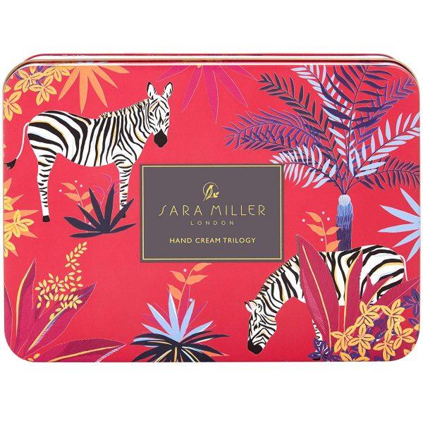 Sara Miller London Tropical Hand Cream Collection In Tin-3661