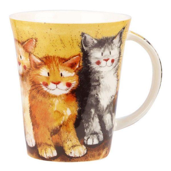 Alex Clark Rodger, Dodger and Tinkerbell Cats Mug-0