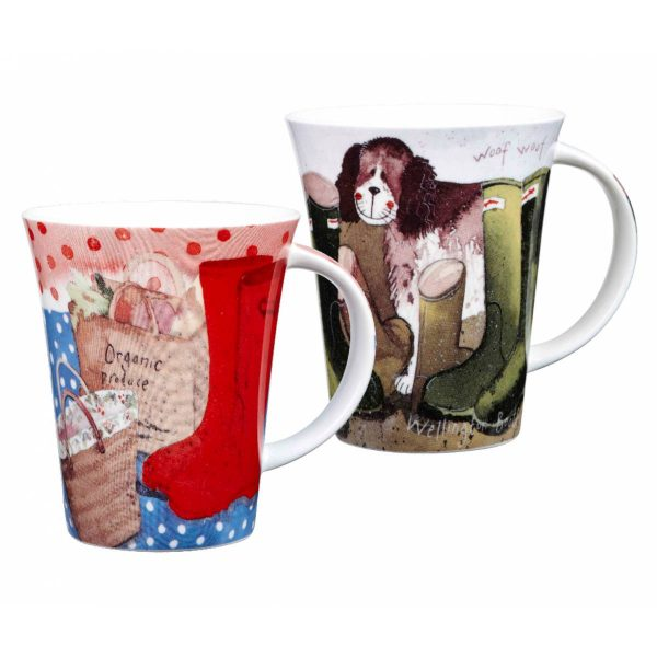 Alex Clark Her Wellies Mug-3805