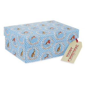 Emma Bridgewater Christmas Wreaths Medium Gift Box-0