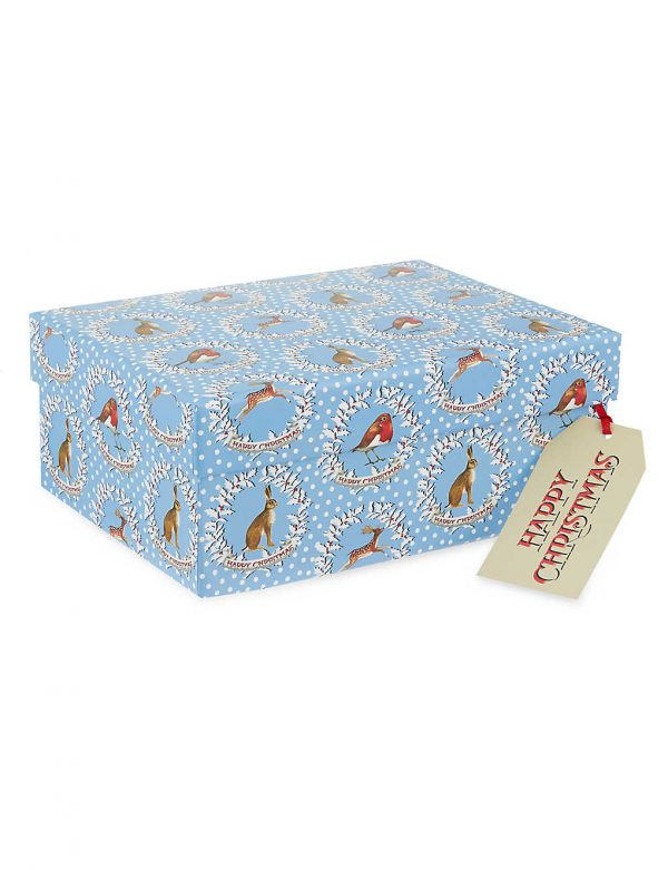Emma Bridgewater Christmas Wreaths Medium Gift Box-0