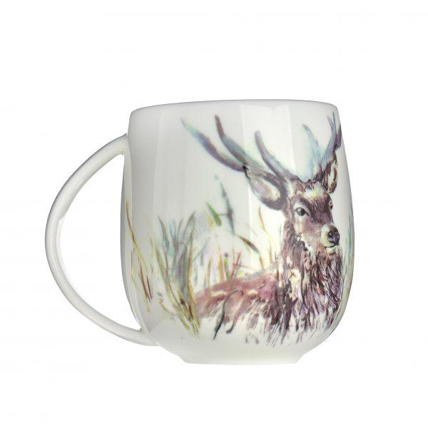 Voyage Fine Bone China Stag Mug, 430ml-3833