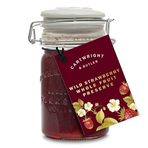 Cartwright & Butler Wild Strawberry Preserve -0