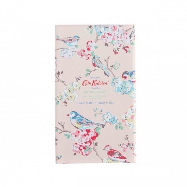 Cath Kidston Blossom Birds White Clover & Matcha Tea Manicure Set -3922