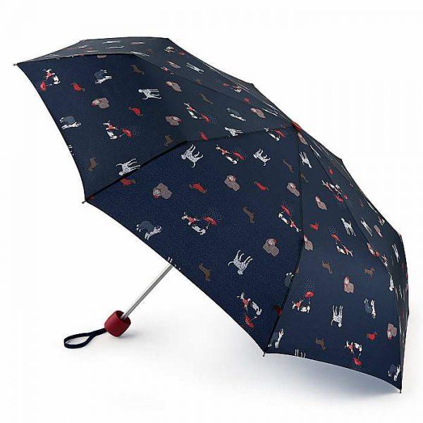 Joules Minilite Dogs Umbrella, Handbag Umbrella -0