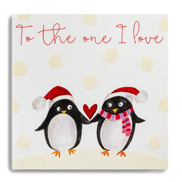 Janie Wilson to The One I Love Christmas Card, Penguin-0