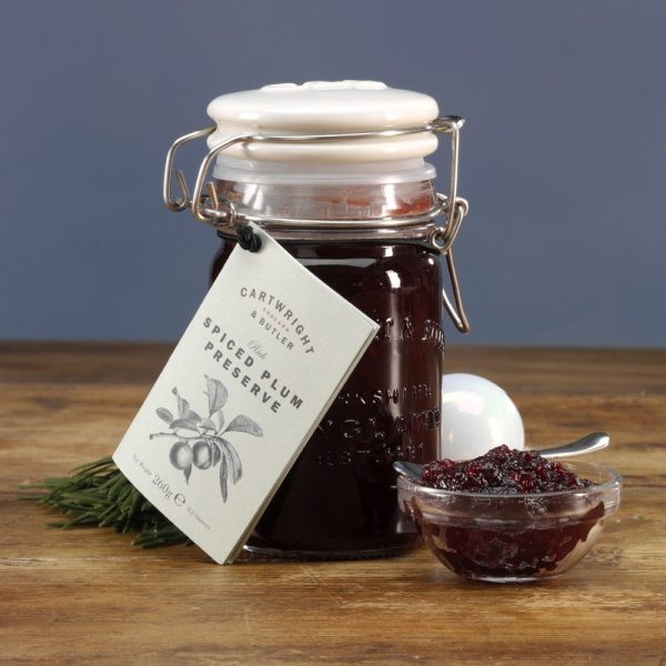 Cartwright & Butler Spiced Plum Preserve -3898