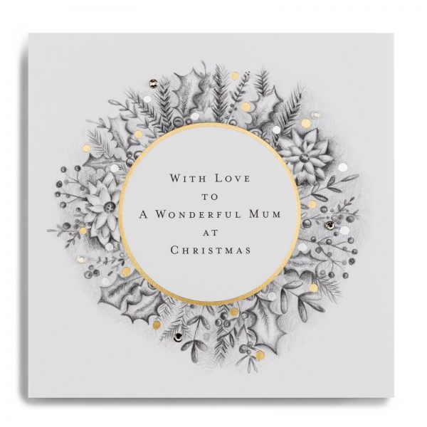 Janie Wilson Wonderful Mum Christmas Card-0