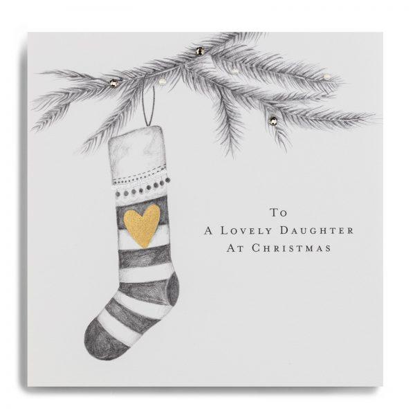 Janie Wilson Lovely Daughter Christmas Card-0