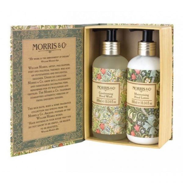 William Morris Golden Lily Hand Wash & Hand Lotion Set-0