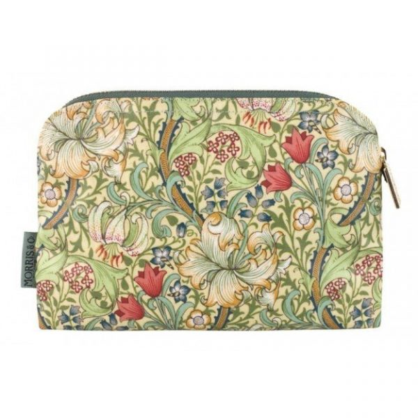 William Morris Golden Lily Small Cosmetic Bag-0